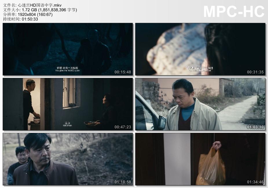 2014年国产经典悬疑犯罪片《心迷宫》HD国语中字