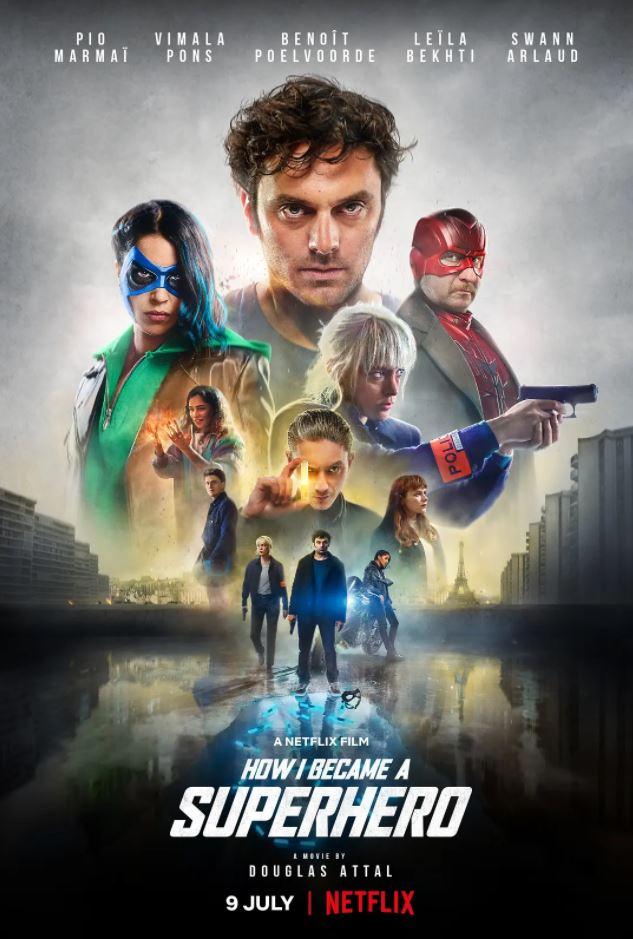 2020年法国动作片《我是如何成为超级英雄的》BD中英双字