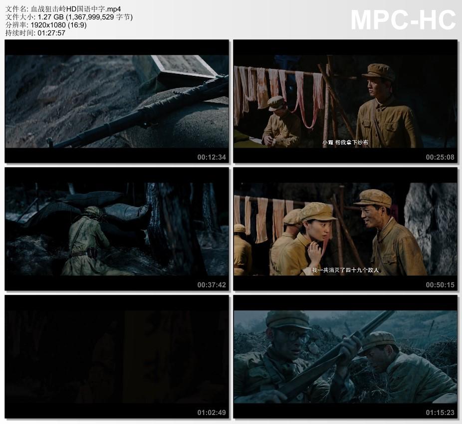 2021年国产战争片《血战狙击岭》HD国语中字